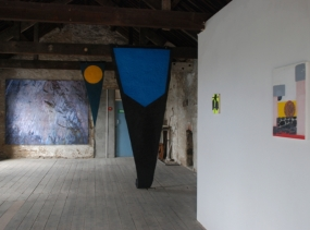 Works by James Hankey, Stuart Robinson and Stephen Smith, Inland Art Festival 2014