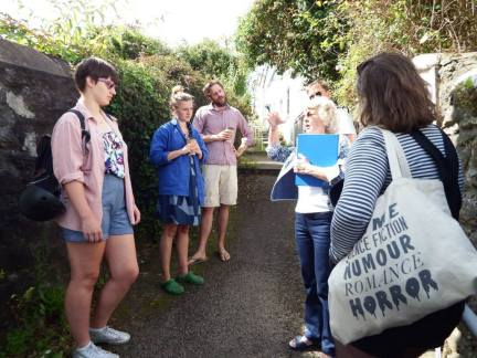 Tour of Penryn with Blue Badge guide Diana Smith for The History Laboratory