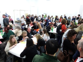 Speed dating event at SWARM, 2016